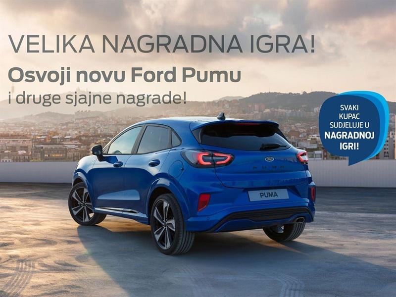 Osvoji novu Ford Pumu i druge sjajne nagrade!